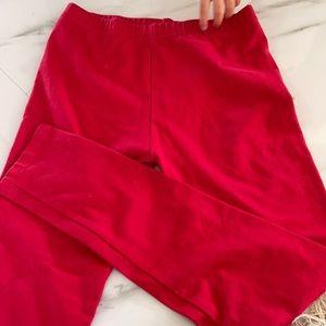 Dori creation red leggings